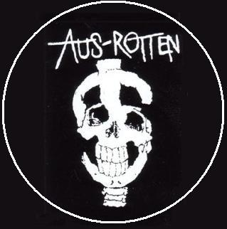 "Button Aus-Rotten ""Dollar"""
