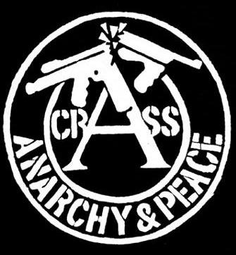 "Button Crass ""Anarchy and Peace"""