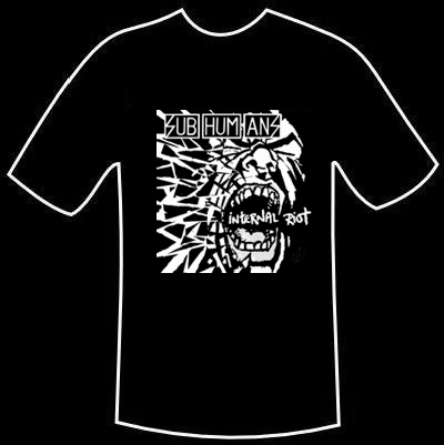 T-Shirt Subhumans - Internal Riot