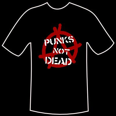 "T-Shirt ""Punks not Dead"""