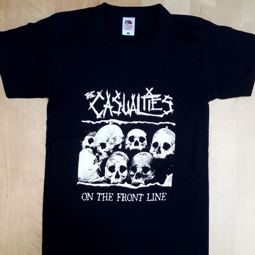 "T-Shirt Casualties ""on the frontline\"""