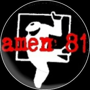 Button Amen 81