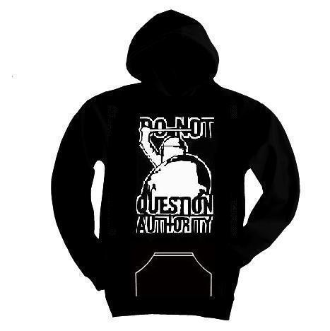"Kapuzen-Pullover ""do not question"""