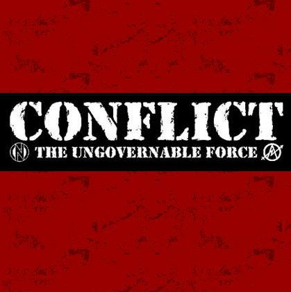 Aufnäher - Conflict - the ungovernable force