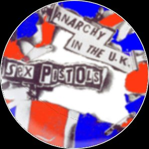 "Button Sex Pistols ""Anarchy in the UK"""