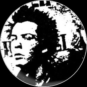 Button punk kopf (Sid Vicious)