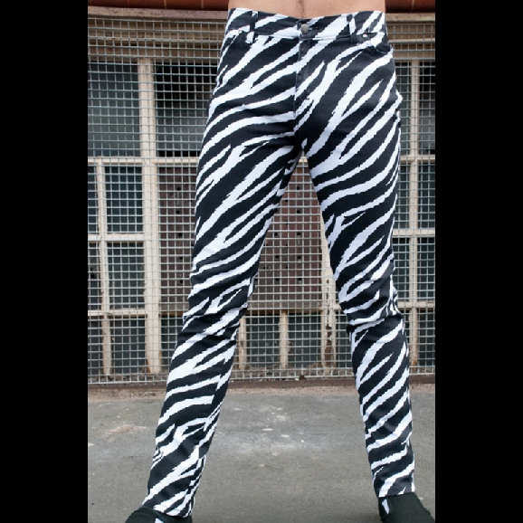 "Stretchjeans ""run & fly"" Zebra"