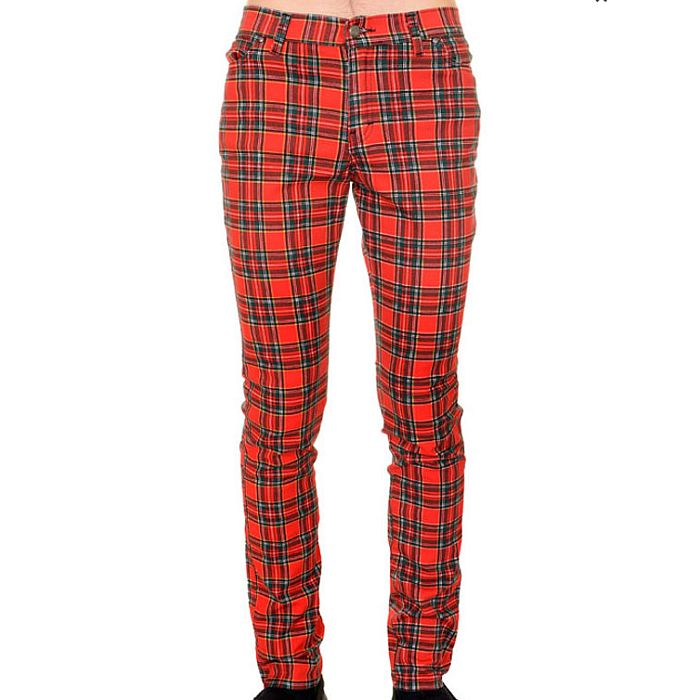 "Stretchjeans ""run & fly"" tartan"