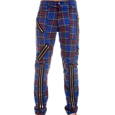 Bondage Hose tartan blau Tiger of london