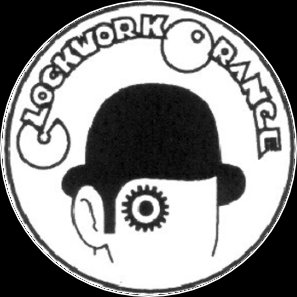 Button Clockwork Orange sw